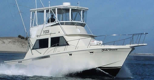 Fish Dance deep sea fishing charters Carolina Beach, NC